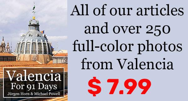 Valencia Travel Book Offer